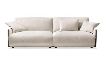 Giorgetti Leather Sofa