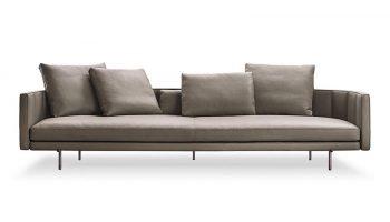 Karlstad Leather Sofa