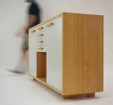 Natural Retro Cabinet