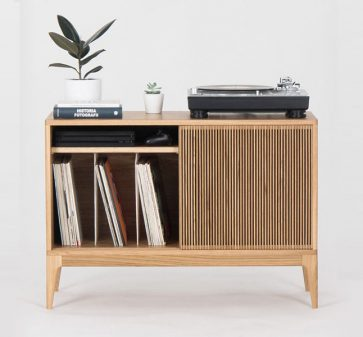 Retro Record Player Storage